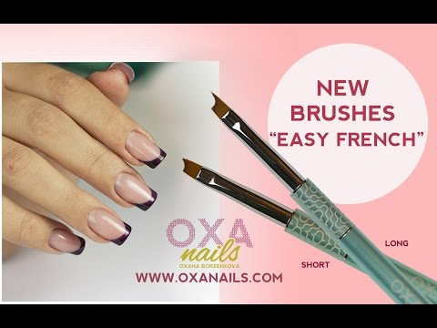 "Brushes ""EASY FRENCH"" LONG AND SHORT"