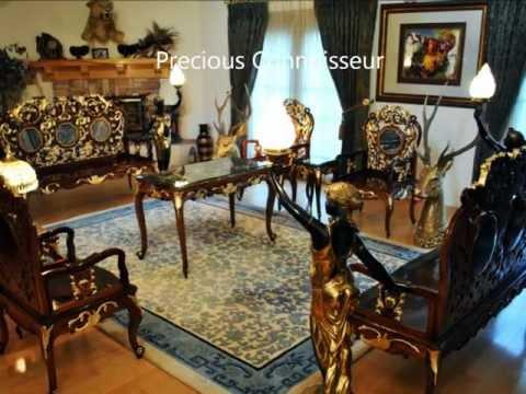 Qing Yuan-Ming Garden Huanghuali Wood Antique Furnitur .wmv