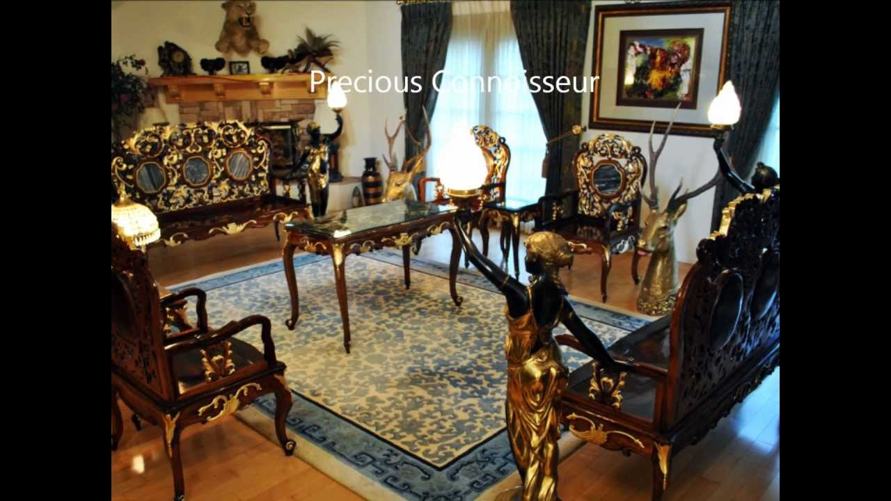 Qing Yuan Ming Garden Huanghuali Wood Antique Furnitur .wmv   YouTube