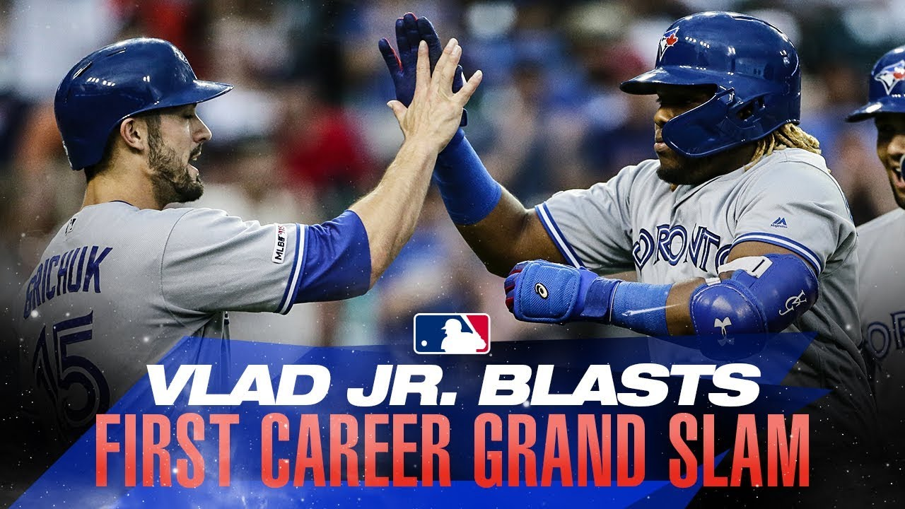 Vlad Jr.'s first career grand slam