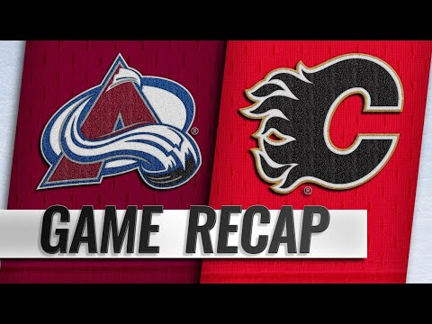 Giordano, Flames post 5-3 win against Avalanche