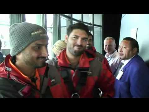 Indian Cricket Team's New Zealand adventures.flv