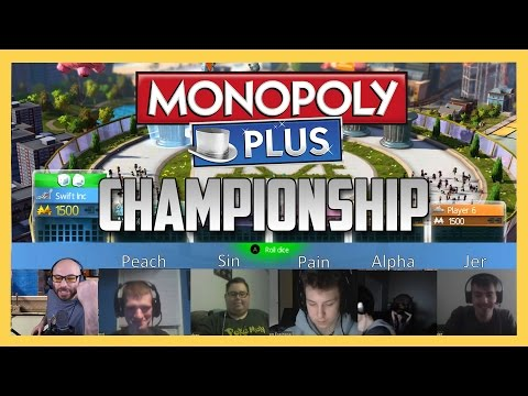 Monopoly Week CHAMPIONSHIP! Winners from a week of Monopoly face off!