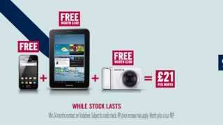 "FREE Samsung Galaxy Ace + Galaxy Tab 2 7"" & Galaxy Camera"