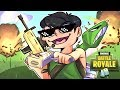 FORTNITE BATTLE ROYALE SOLID GOLD *new* GAME MODE! w/Delirious, Wildcat & Basically Part 1