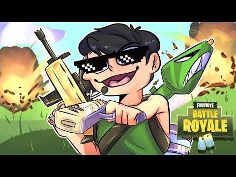 FORTNITE BATTLE ROYALE SOLID GOLD *new* GAME MODE! wDelirious, Wildcat & Basically Part 1