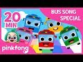 Download lagu The Wheels on the Bus and more | Bus Songs | +Compilation | Pinkfong Songs for Children