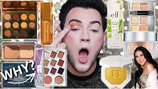 Download TESTING NEW OVER HYPED HOLIDAY MAKEUP! Jaclyn hill, Fenty, Colourpop, ETC Mp3 and Videos