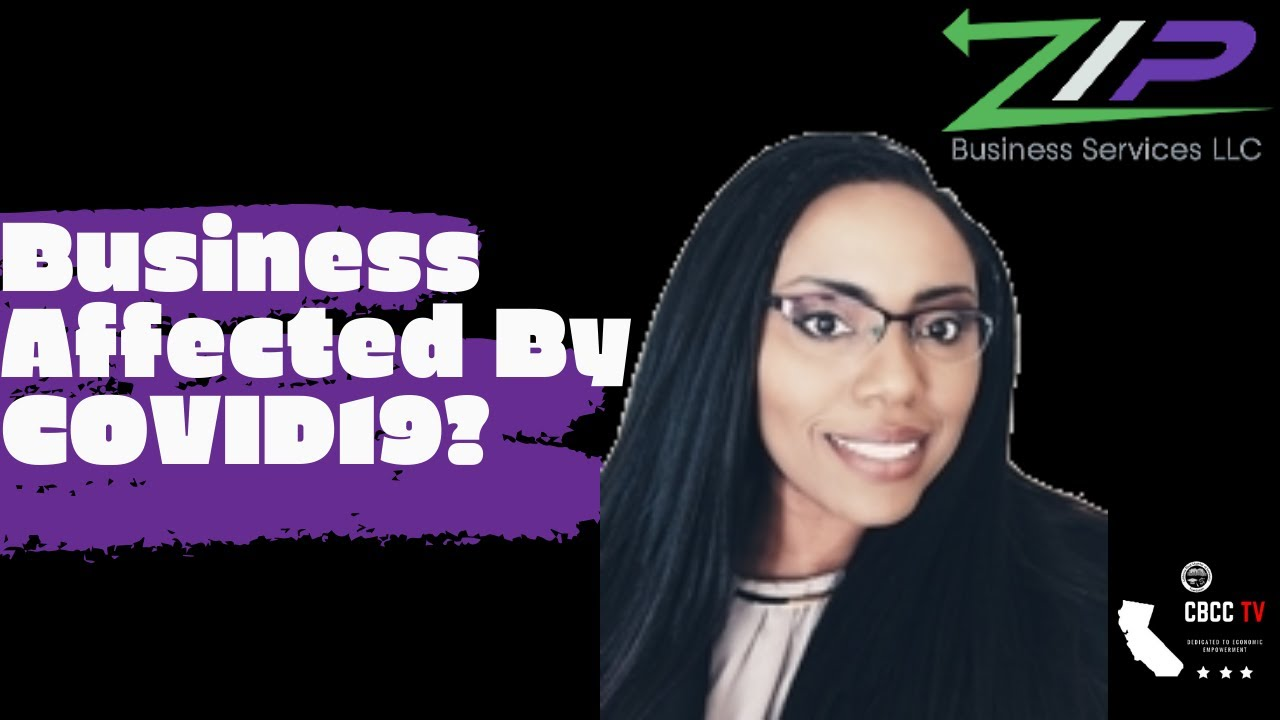 Has COVID affected your Business? Idara Phillips, MBA, ZIP Business Services - CBCC T.V. Interview