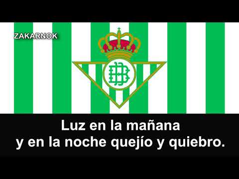"Himno del Real Betis Balompié: ""Himno del Real Betis"" from YouTube · Duration:  2 minutes 50 seconds"