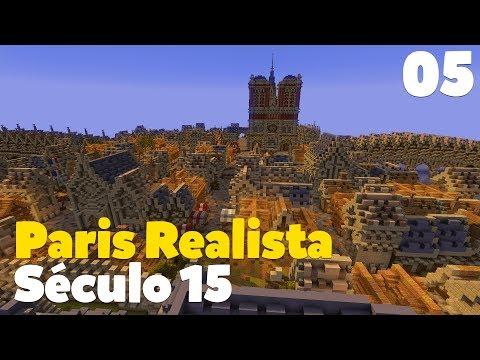 Mapa da Semana - PARIS REALISTA SÉCULO 15 #5