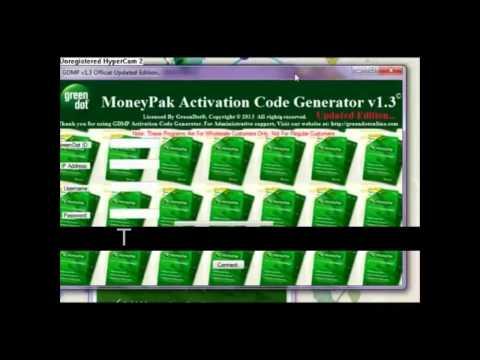 green dot moneypak activation code generator v1.4