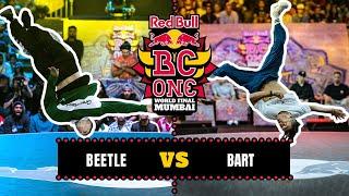 B-Boy Beetle vs B-Boy Bart | Top 8 | Red Bull BC One World Final Mumbai 2019