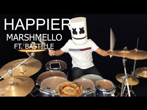 Marshmello ft. Bastille - Happier - Drum cover
