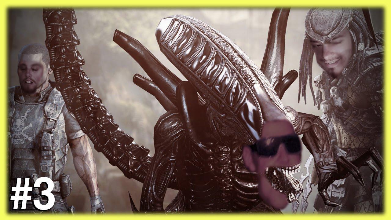 alien vs predator rap - YouTube