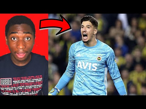 Young Football Fan Reacts To ALTAY BAYINDIR Skills & Saves