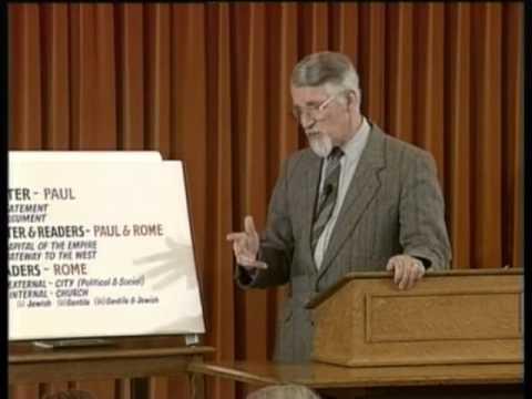 David Pawson - Romans [1] - Unlocking the bible