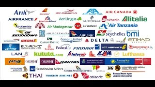 Top 10 Airlines - Must Watch---Name the Airlines