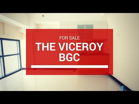 ✅ The Viceroy Residences, McKinley Hill BGC - Condo For Sale ₱ 4.3M