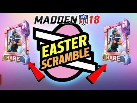 EASTER PROMO HARE VICTORY PACK OPENING MADDEN 18! SOLOS REWARDS