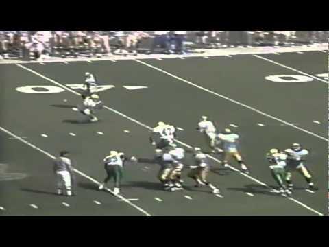 Oregon LB Reggie Jordan sacks UCLA QB Cade McNown again 9-16-1995