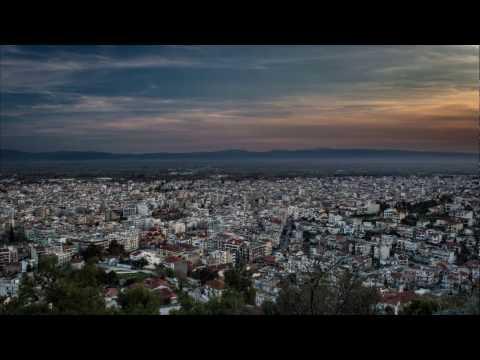 Timelapse over Serres (Σέρρες) Greece
