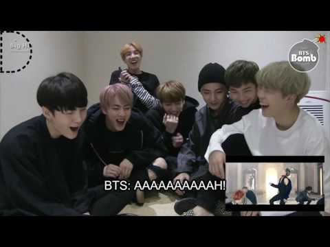 [INDO SUB] BTS REACTS TO BLOOD SWEAT AND TEARS