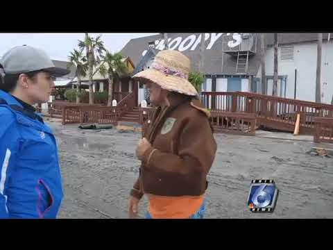 Padre Island businesses had some structural damage