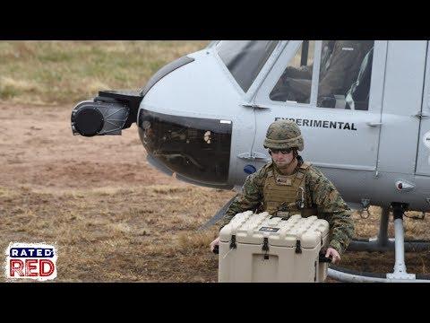 Marine Corps Demonstrates New Autonomous Resupply System