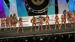 Bikini International Amateur Prejudging 2012 - Class D