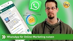 Wie nutze ich WhatsApp für Online-Marketing? | Fairrank TV