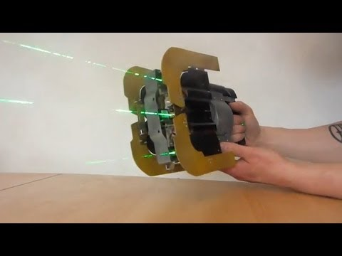 Dead Space Plasma Cutter replica uses lasers to burn through wood, plastic