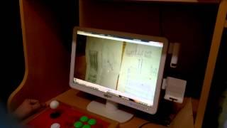 Arcade joystick (atari kolu) el yapimi