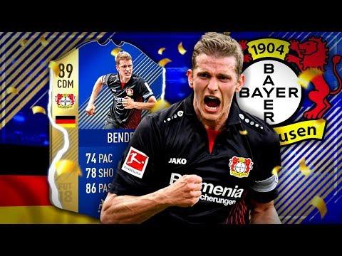 Der BESTE 6er in der Bundesliga 🔥 TOTS LARS BENDER Player Review 🔥 FIFA 18 deutsch