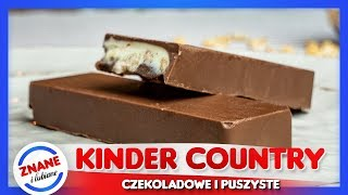 Jak zrobić KINDER COUNTRY - najlepszy przepis *domowe słodycze