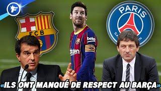 L'obsession du PSG pour Lionel Messi ne passe pas à Barcelone | Revue de presse