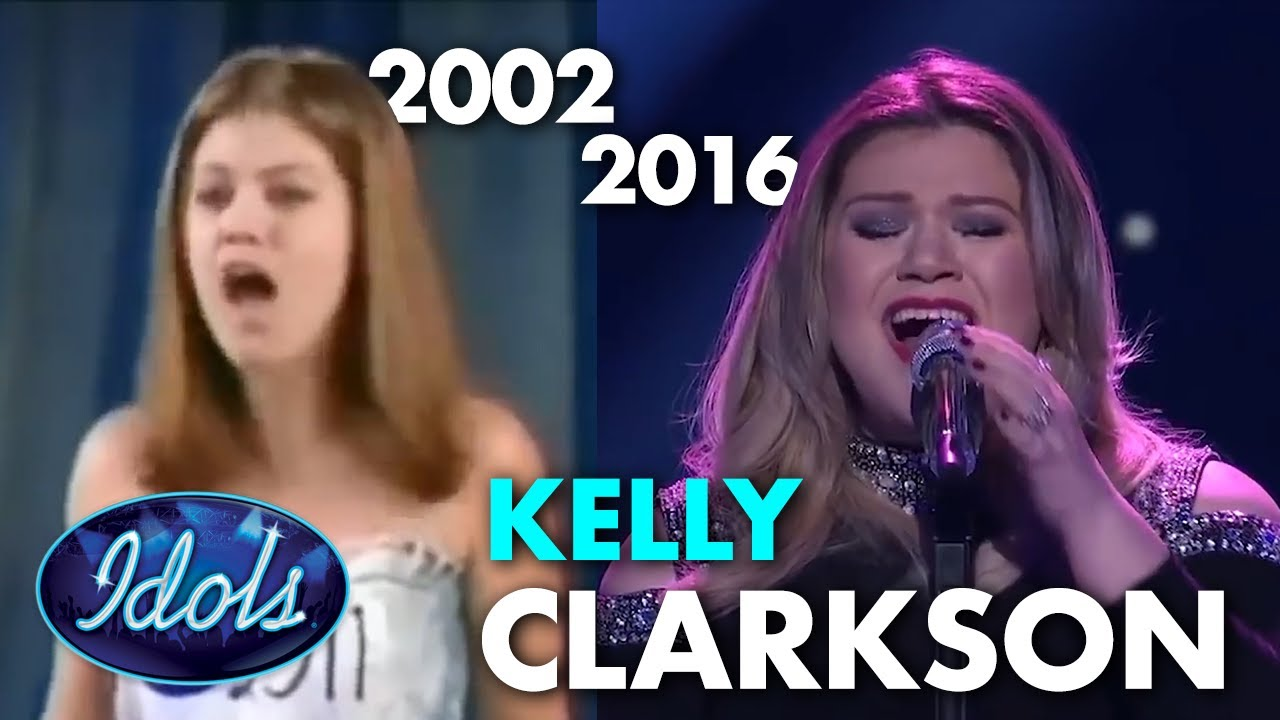 KELLY CLARKSON THEN AND NOW American Idol   Idols Global