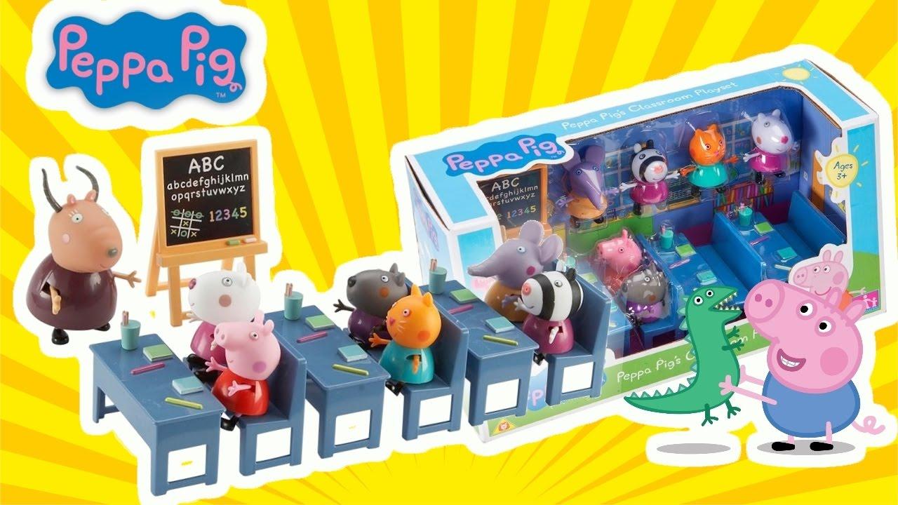 Peppa Pig Italiano Gioco Per Bambini E Bambine A Scuola Con Peppa