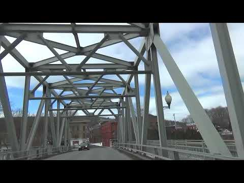 Driving from Saratoga Springs, NY to West Lebanon, NH (Slow)