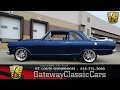 #7228 1964 Chevrolet Chevy II Nova - Gateway Classic Cars of St. Louis