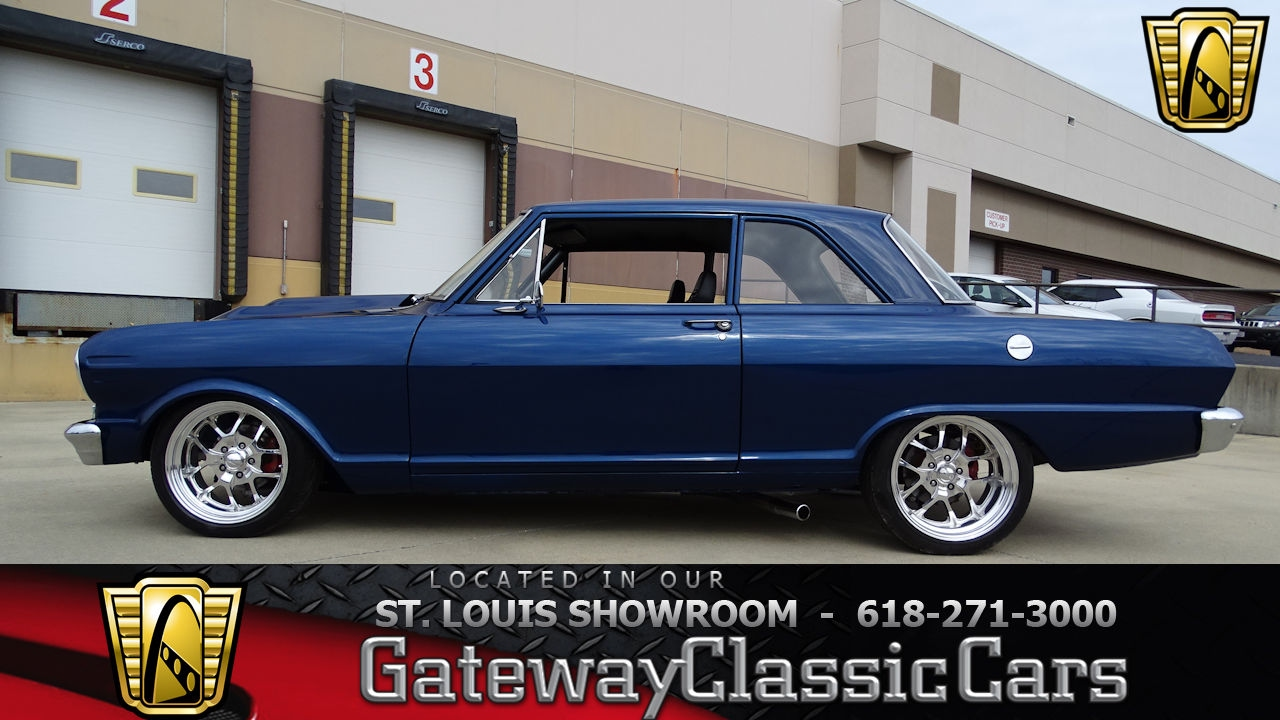 All Chevy 1964 chevy ii : 7228 1964 Chevrolet Chevy II Nova - Gateway Classic Cars of St ...
