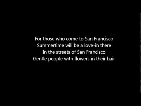 San Francisco (instrumental, karaoke)