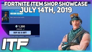 Gambar cover Fortnite Item Shop *RARE* RECON SCOUT IS BACK! [July 14th, 2019] (Fortnite Battle Royale)