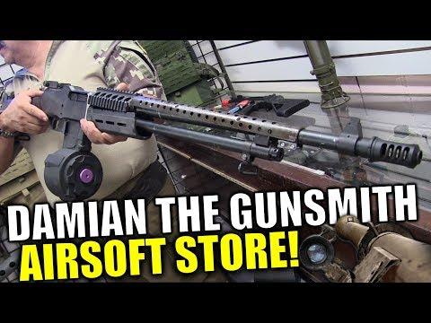 A Humble Bazooka Owning Airsoft Store - Damian The Gunsmith