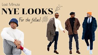 Last Minute New Year's Eve Outfit Ideas | NYC Lookbook | Mens Fashion 2019