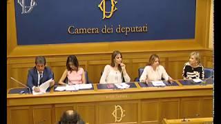Conferenza stampa alla Camera dei Deputati sui fenomeni del Cyberbullismo e Blue Whale