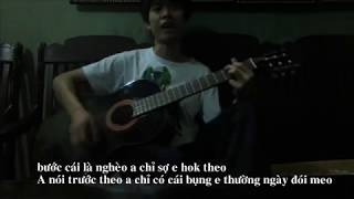 HAI THẾ GIỚI - WOWY FT. KARIK guitar cover