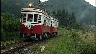 名鉄の名車 モ510形・モ750形  さよなら谷汲線・揖斐線 運行最終日  2001/9/30 NO3 DV462