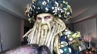 Davy Jones Makeup Cosplay