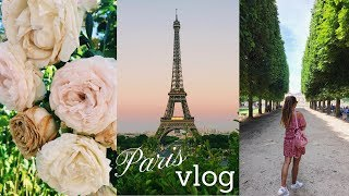 PARIS TRAVEL VLOG ✨ | Tess Florio